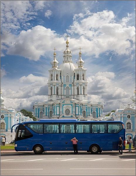 Tourism in blue by IgorDrankin
