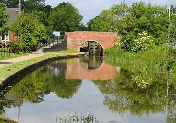 Canal Bridge & Reflections. by Gypsyman
