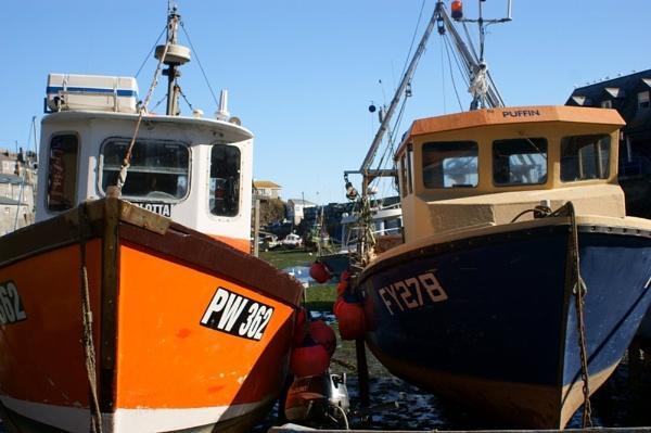 Cornish boats by Lightthouseman