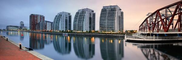 Salford Quays by cdm36