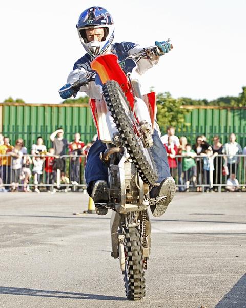 Dan Buss Monster Stunts UK Wheelie by AllanP