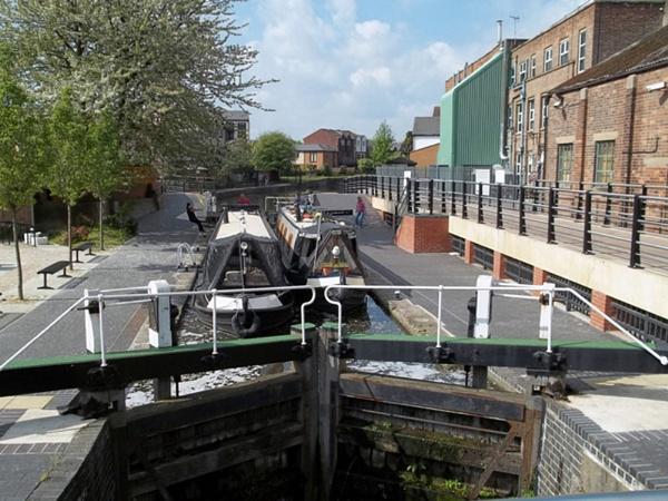 Meadow Lane Lock by Hurstbourne