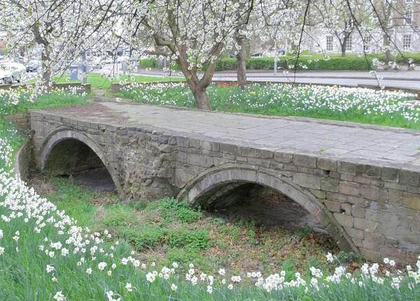 Old Trent Bridge by Hurstbourne