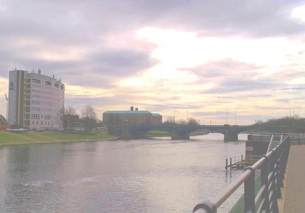 Trent Bridge by Hurstbourne
