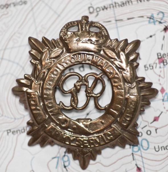 RASC  Brass Cap badge by sludge1969