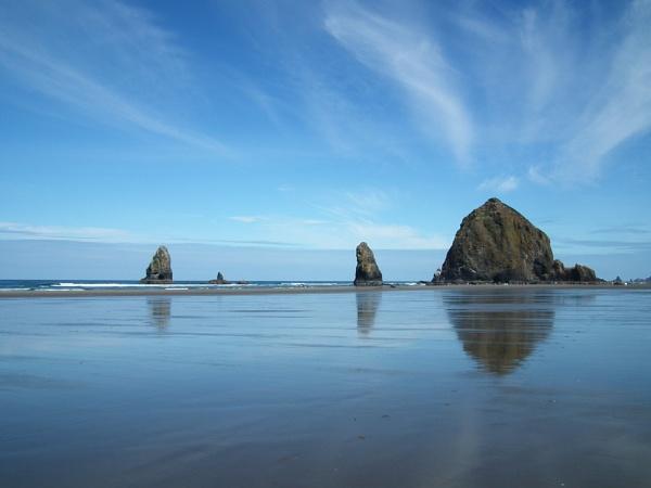 Haystack Rock by Sararose