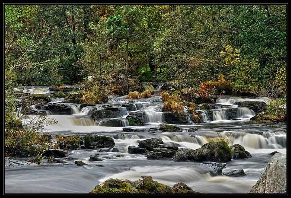 Falls of Dochart by sooty 36