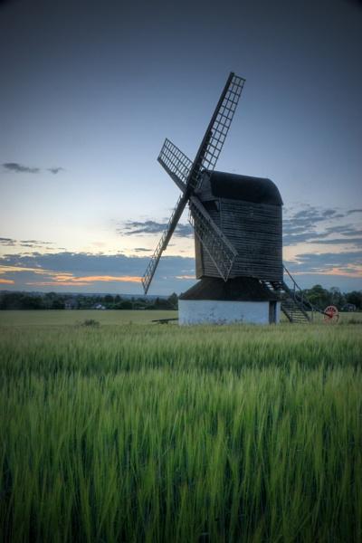 Pitstone Windmill by mark2uk