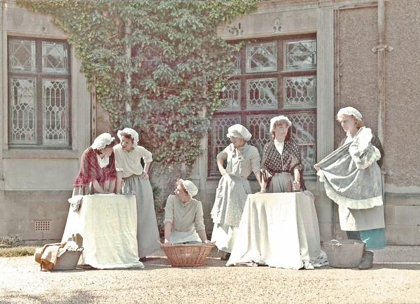Courtyard Drama by Hurstbourne