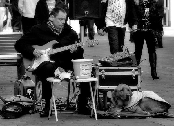 Blind man by joelgalleries