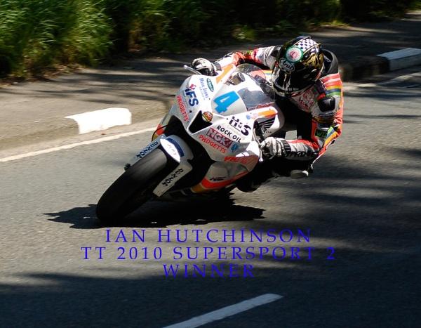 Ian Hutchinson TT 2010 by goldwing1