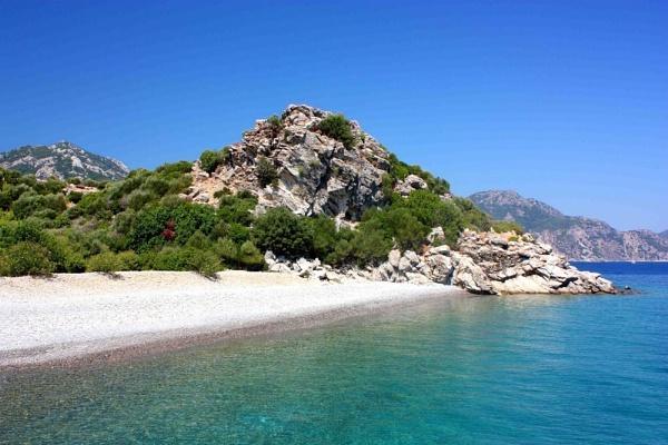 A beach in Turkey by shuto