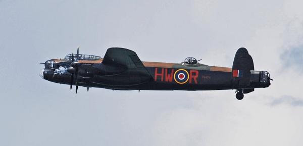 Battle of Britain Memorial Flight Lancaster Bomber by Dilys