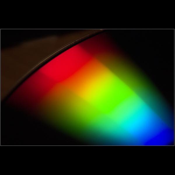 CD rainbow by Plumit