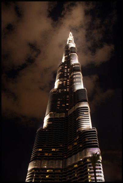 Burj Khalifa By Night by JLM1981