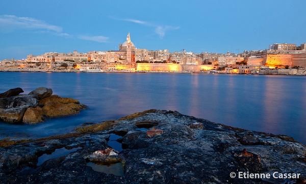 Valletta Skyline by ecassar