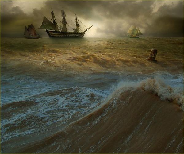 Atlantic Forces by CliveA