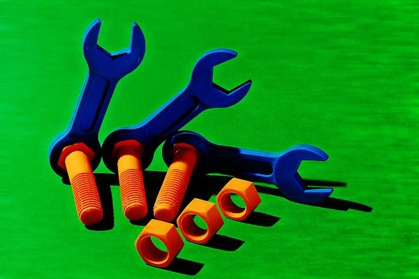 Three colour shape items by JackAllTog