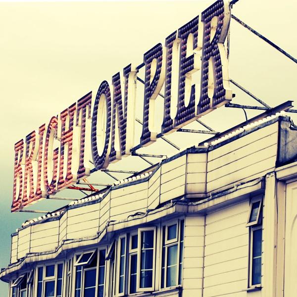 Vintage Brighton Pier by Radders3107