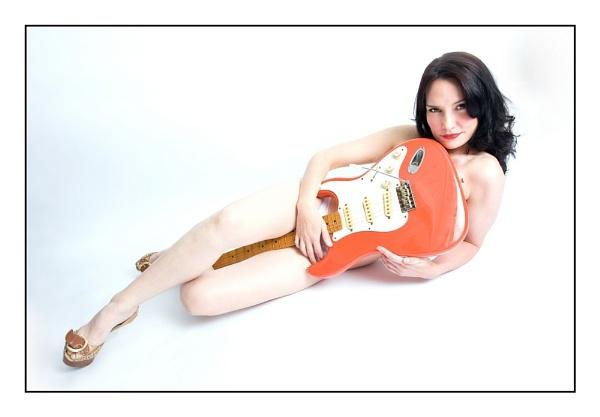 Guitarist by Ania Pankiewicz