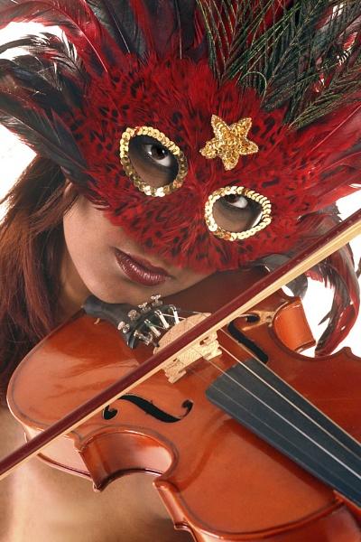 Violinist by dudler
