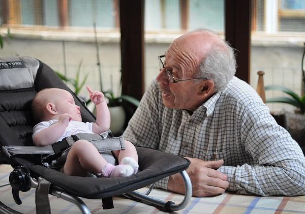 Grandpa listen by paul_indigo