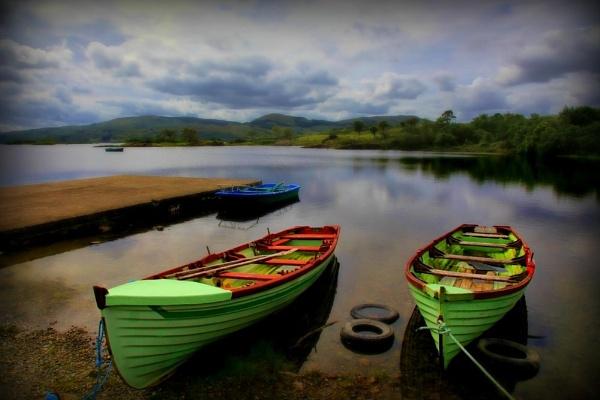 green boats by yaco