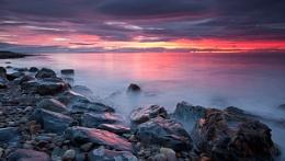 Moray coast sunset