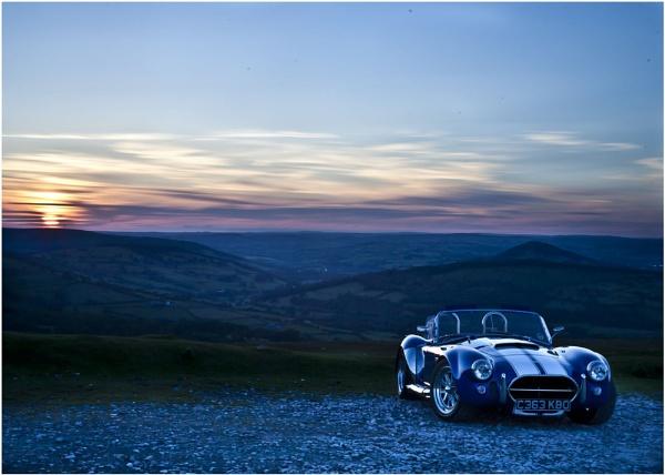 Sunset+ac cobra+brecon beacons=Beautiful by madmatt