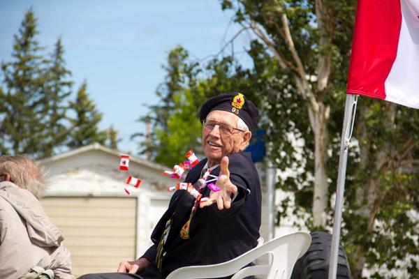 Canada Day Parade Veteran by inntrykk