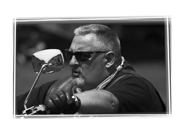 Harley Bike Rider by gazza306