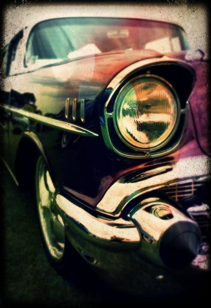 57 Chevy pixlr-o-matic rework by davidburleson