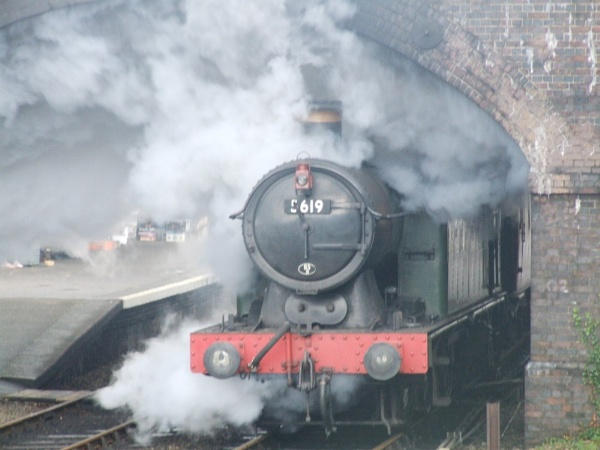 steam train by chubby2007