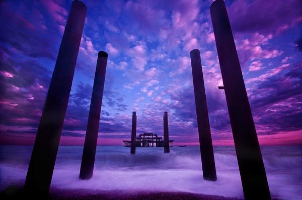 west pier brighton by marcus1976