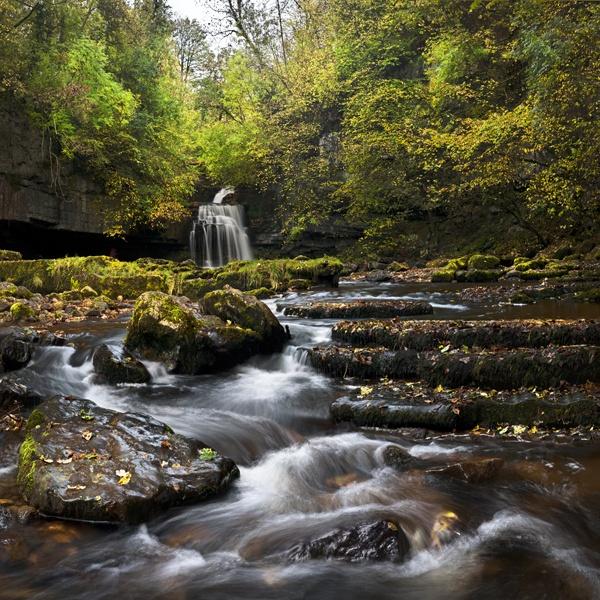 Autumn at Cauldron Falls by YorkshireSam