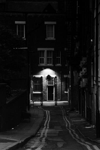 The Lit Doorway by karen1961