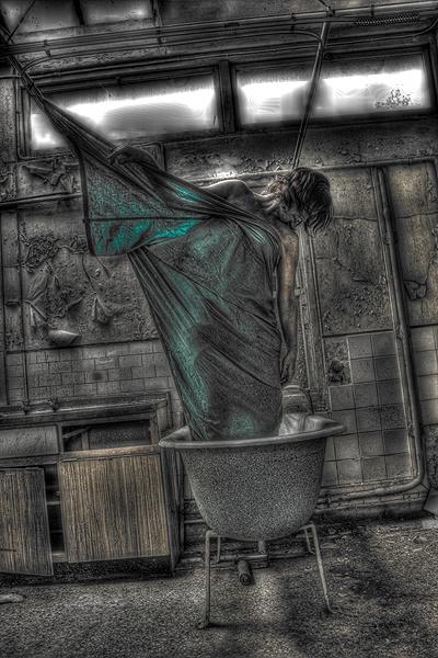 Bath time fun! by becciread