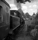 Loco at Highley Station by pentaxpete