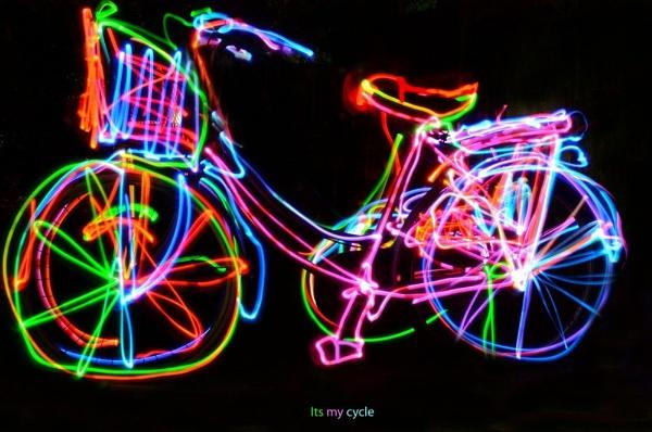 my kids cycle by rajasekaranamie