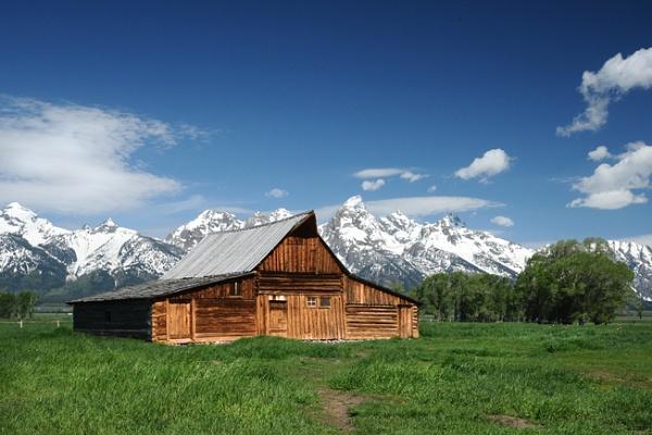 Mormon barn by BrianSS