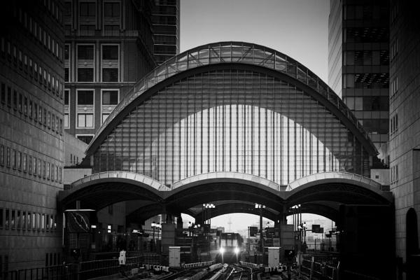 Canary wharf rail station. by ASM9633