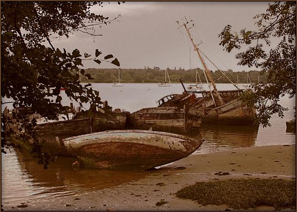 Old Wrecks by fentiger