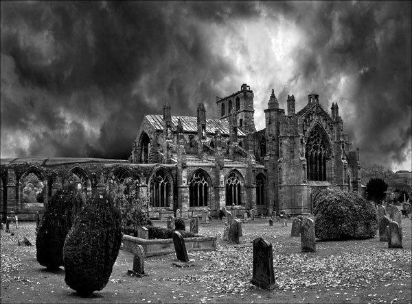 Melrose Abbey 2 by KMRennie