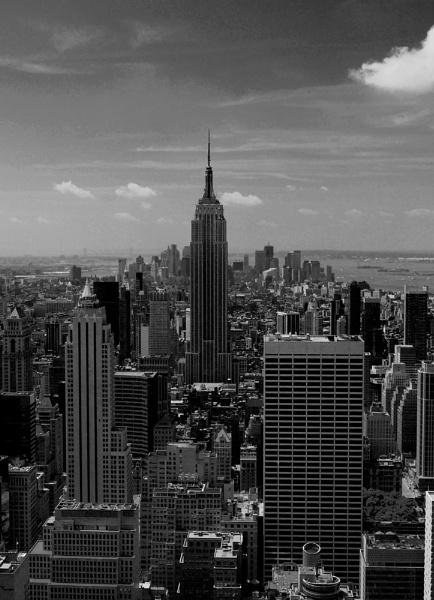 New York Skyline by bigwulliemc