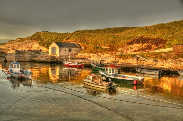 Ballintoy harbour by JohnMeik