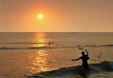 Last catch of the day. by PradyothChakraborty