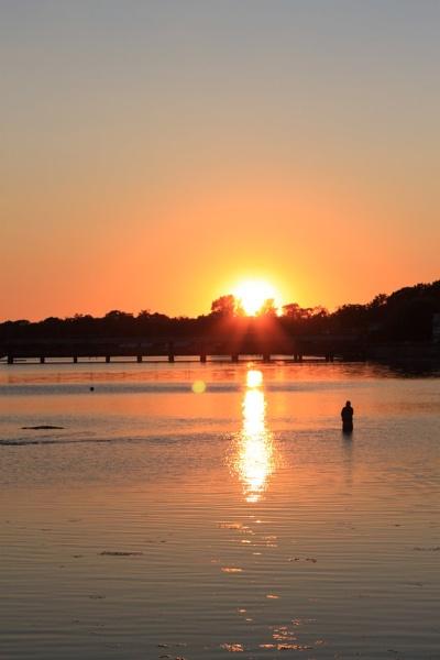 Sunset at Crystal Beach by sunsetgirl