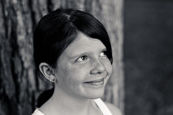 B&W Portrait with new 50mm AF-S F/1.8G by mswiech