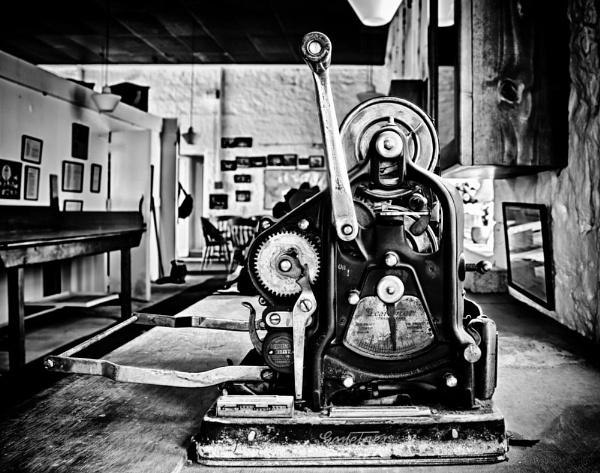 Retired Machine by LMK_Photography