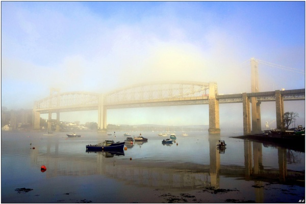 A Misty Tamar Morning by MikeGreaves